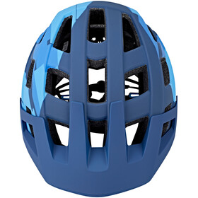 Cube Badger Helm blue camo
